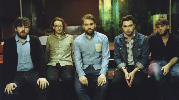 The members of Frightened Rabbit